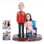 Janice wedding bobblehead couples now available at invitationsng.com bobblehead wwcx0027