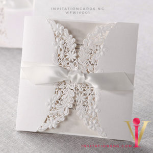 Floral Lace Gate Invitation Card WFWIV001 is now available at invitationsng.com. Call 08173093902