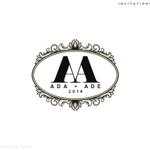 Use Invitationsng Monogram 11 or Typography 11 for all your event stationery in Nigeria at invitationsng.com