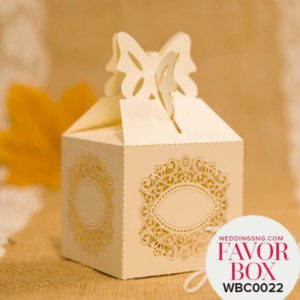 Affordable Rustic Laser Cut Wedding Favor Boxes WBC0022 for occasions and events at invitationcards.ng