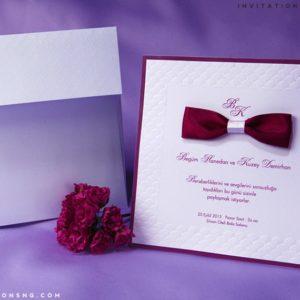 Erdem Kristal Invitation 50665