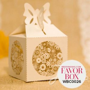 Rustic Floral Laser Cut Wedding Favor Boxes WBC0026 for occasions and events at invitationcards.ng