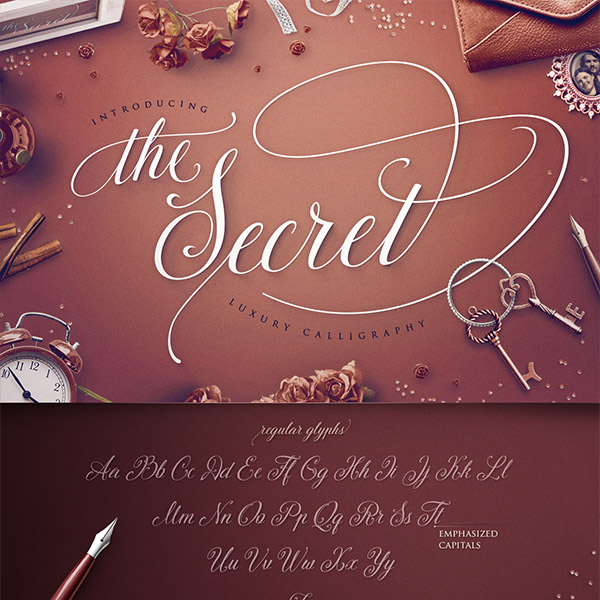 the secret monogram - the luxury calligraphy now available at invitationsng.com