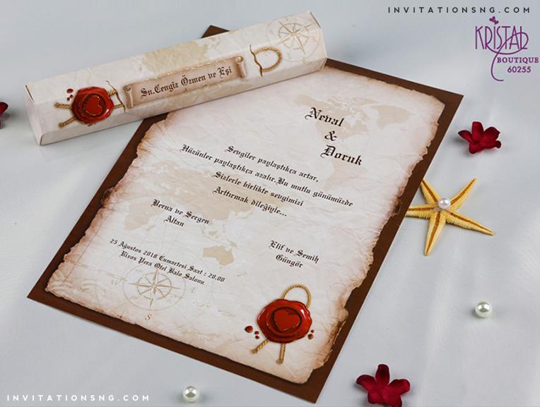 Erdem Kristal Invitation 60255