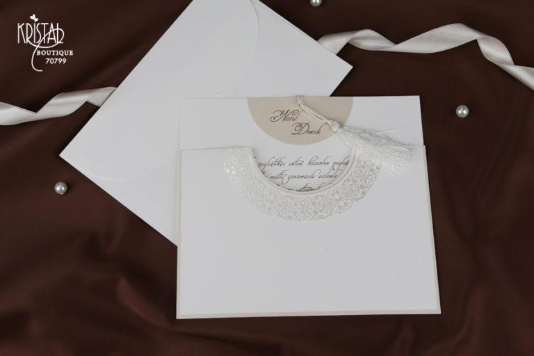 Erdem Kristal Invitation 70799-