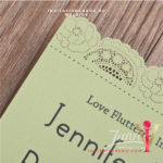 Flat Laser Cut Invitation Card WFL0106 is now available at invitationsng.com. Call 08173093902