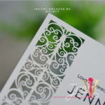Flat Laser Cut Invitation Card WFL0117 is now available at invitationsng.com. Call 08173093902